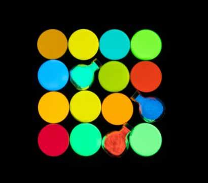 特殊蛍光体の写真